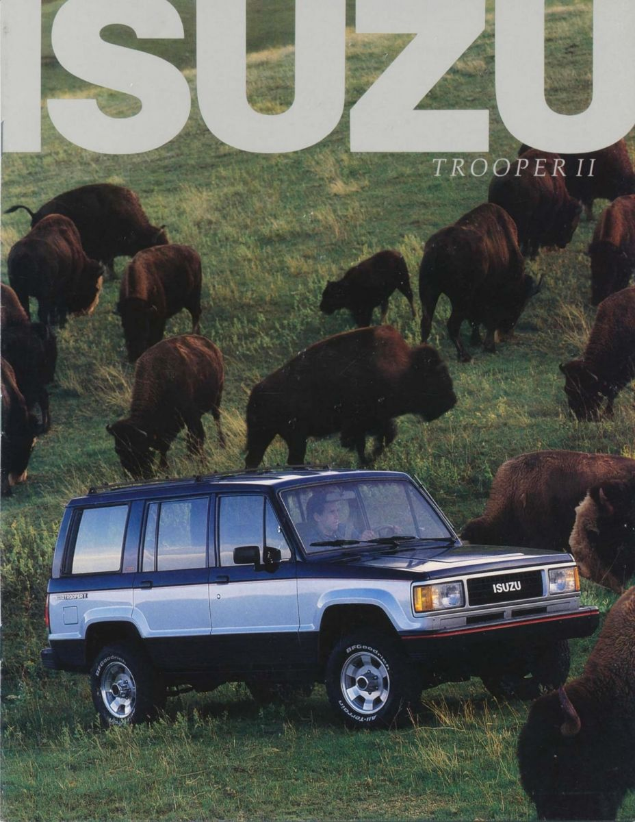 Isuzu Trooper II 1987