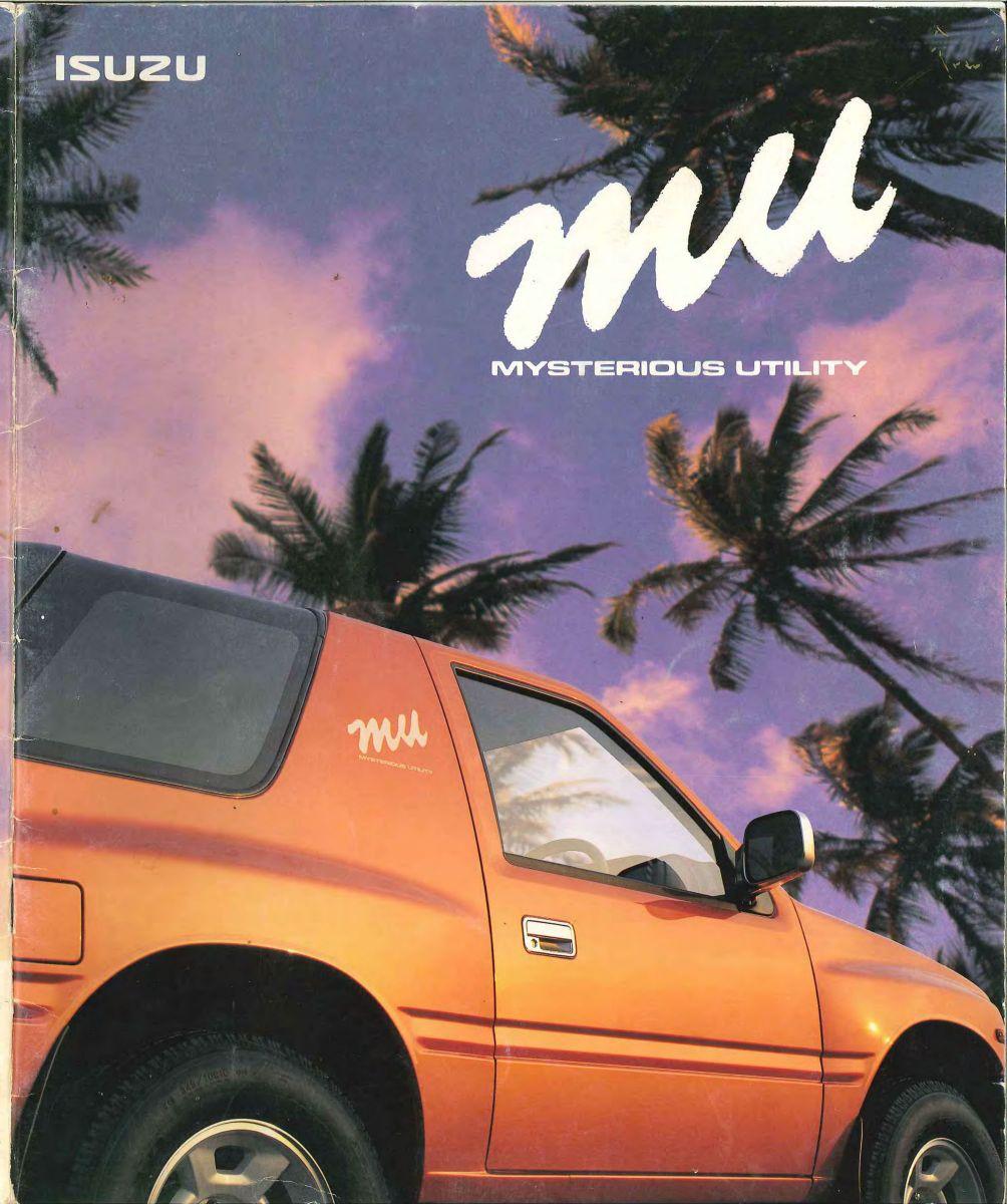 Isuzu MU 1995