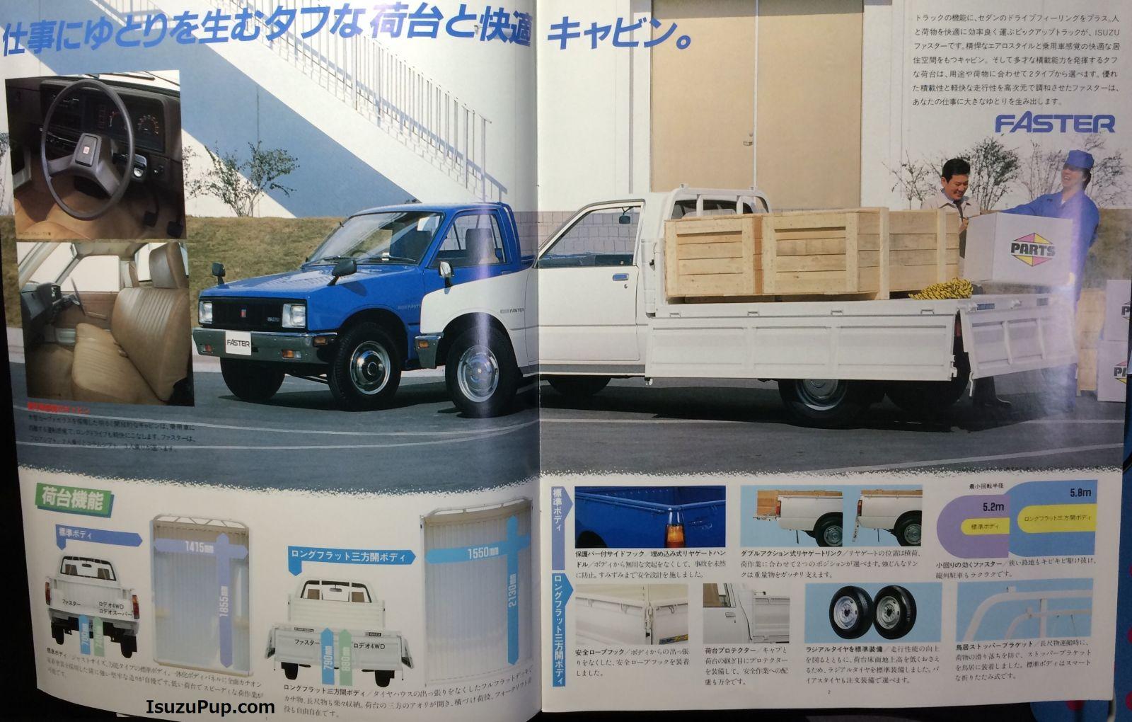 1985 Isuzu Faster, Rodeo 4WD, Rodeo Super 002.jpg
