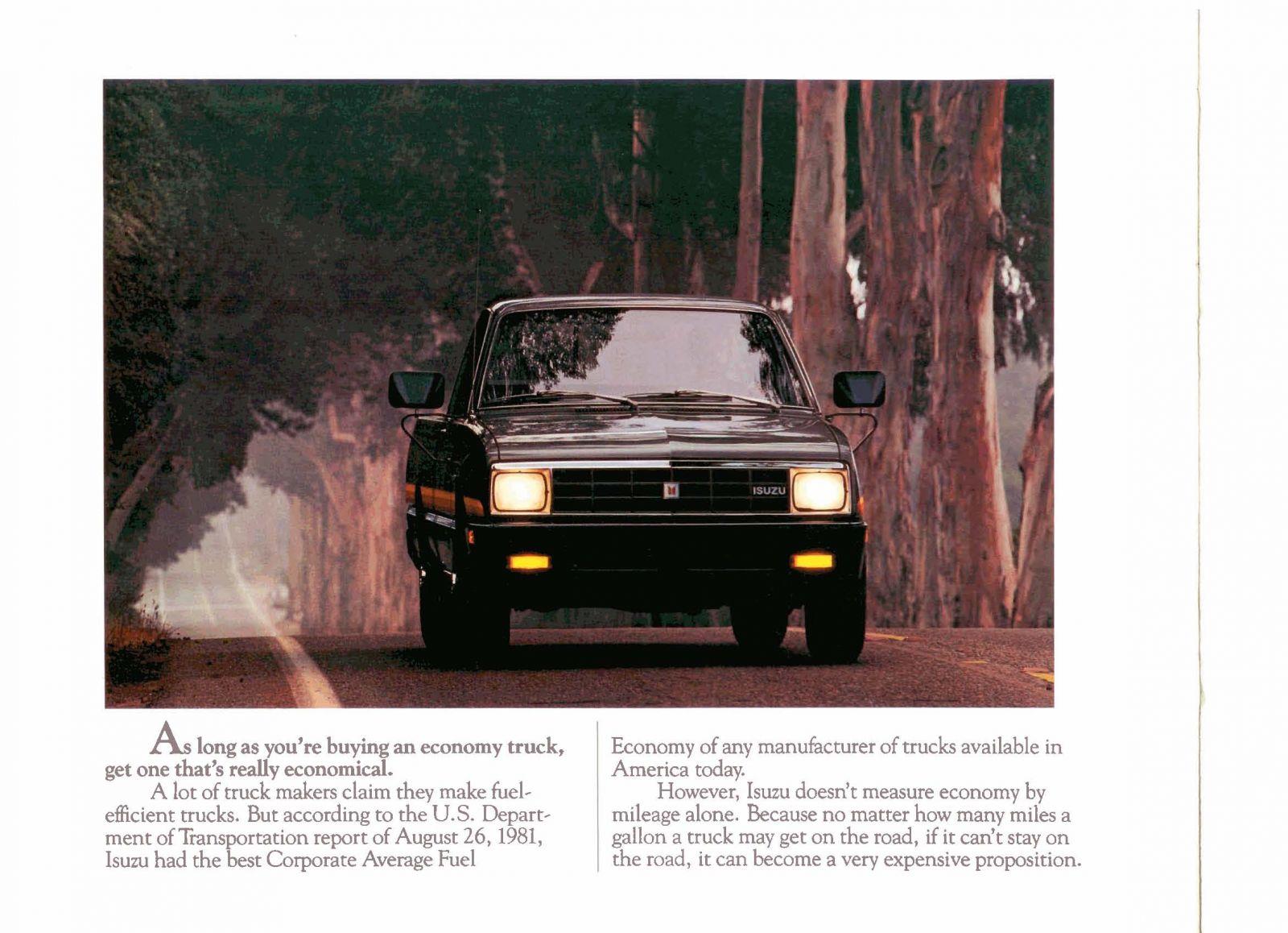 1982 Isuzu Pickups Page 02.jpg