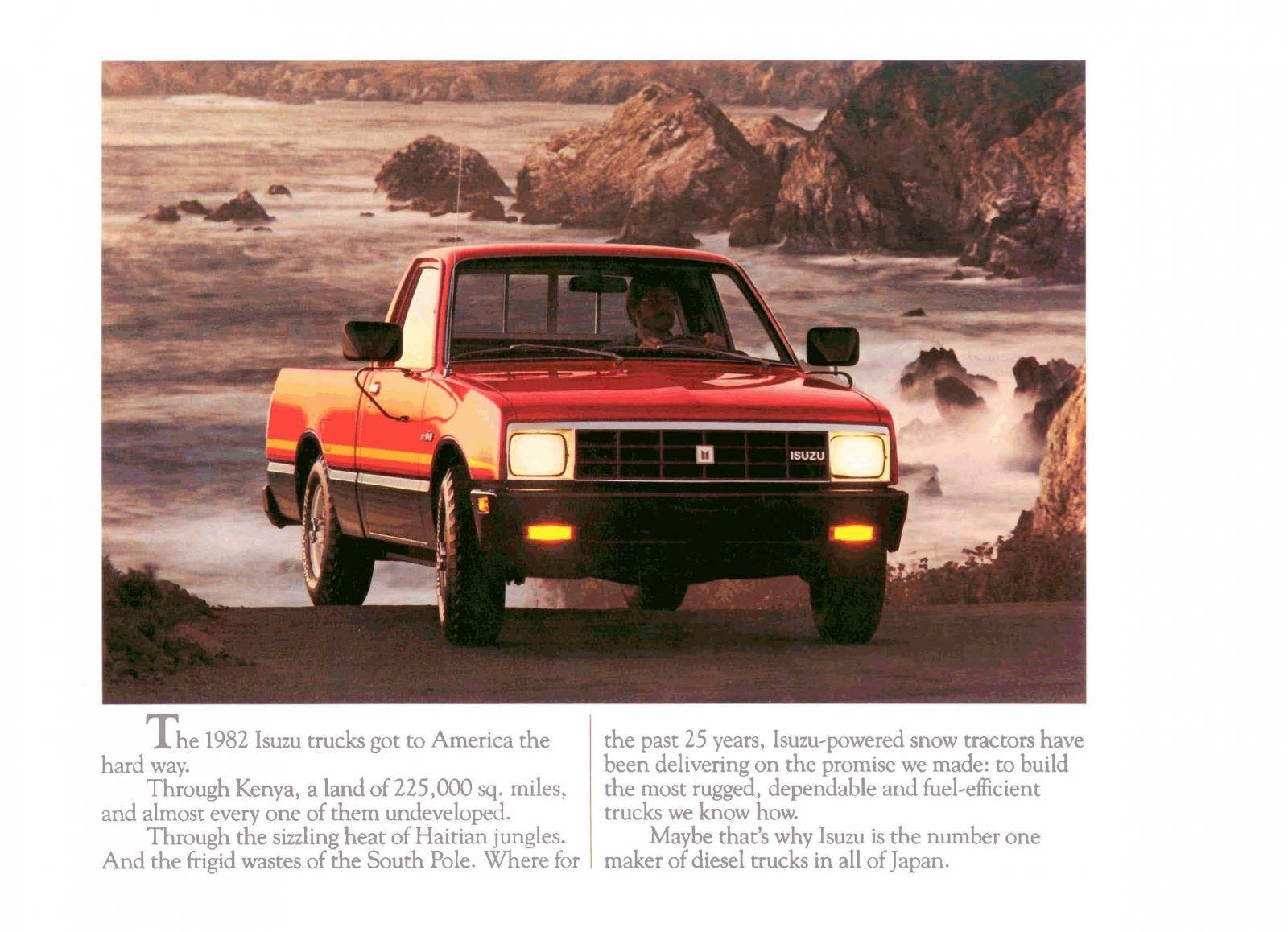 1982 Isuzu Pickups Page 01.jpg