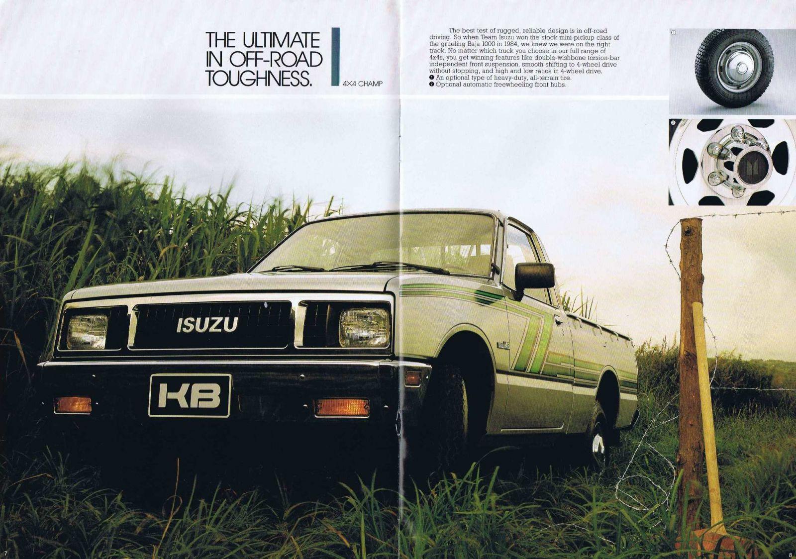 1987 Isuzu KBD Page 06.JPG
