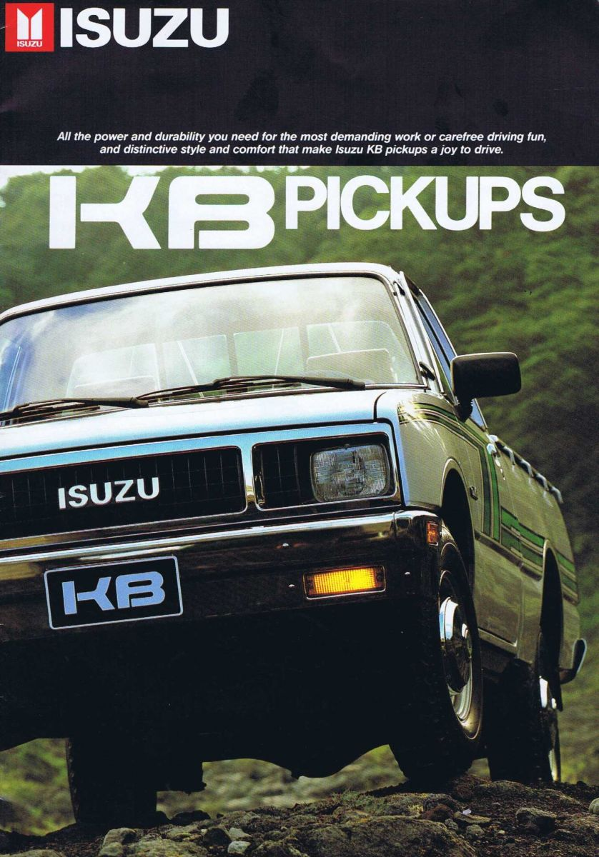 1987 Isuzu KB Pickups