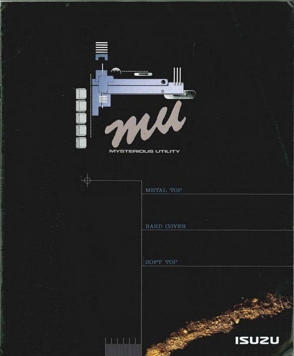 Isuzu Mu 1992
