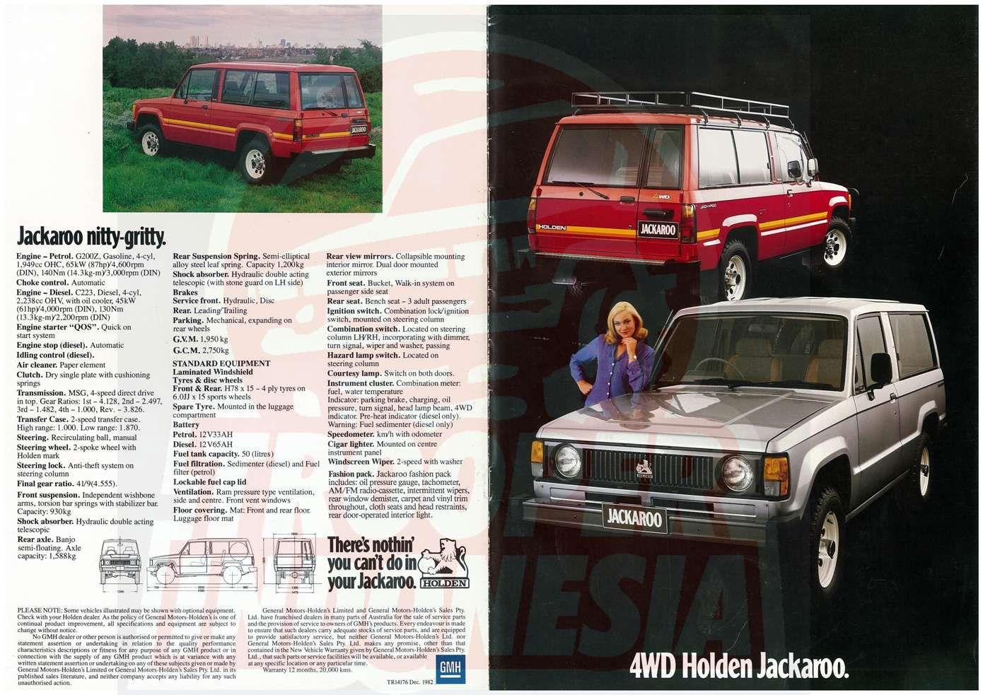 1982 Holden Jackaroo