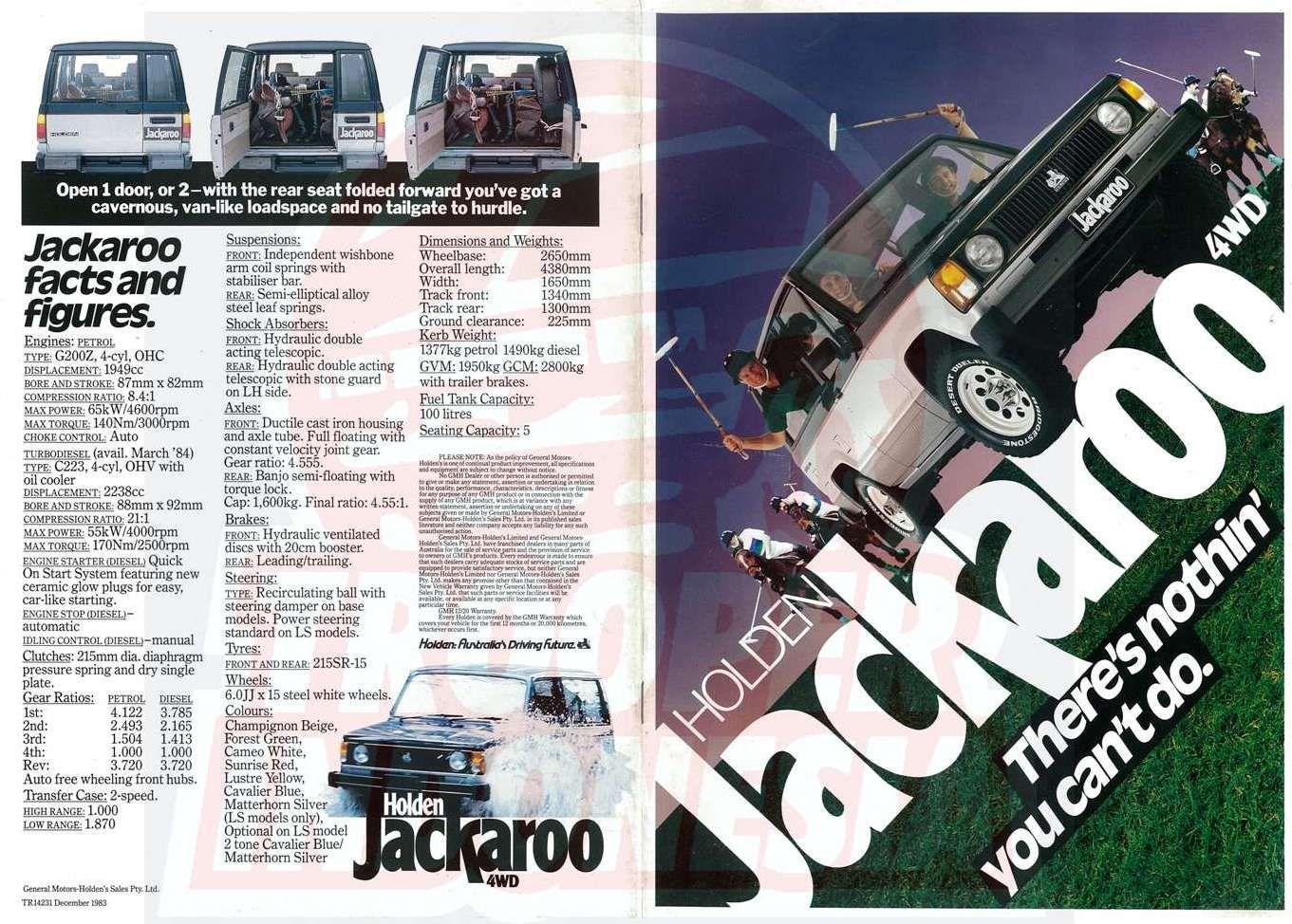 1983 Holden Jackaroo