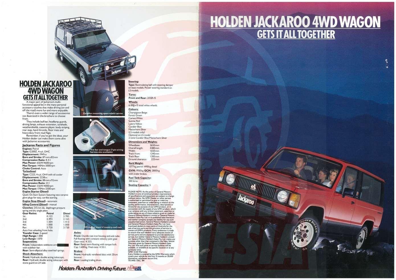 1984 Holden Jackaroo