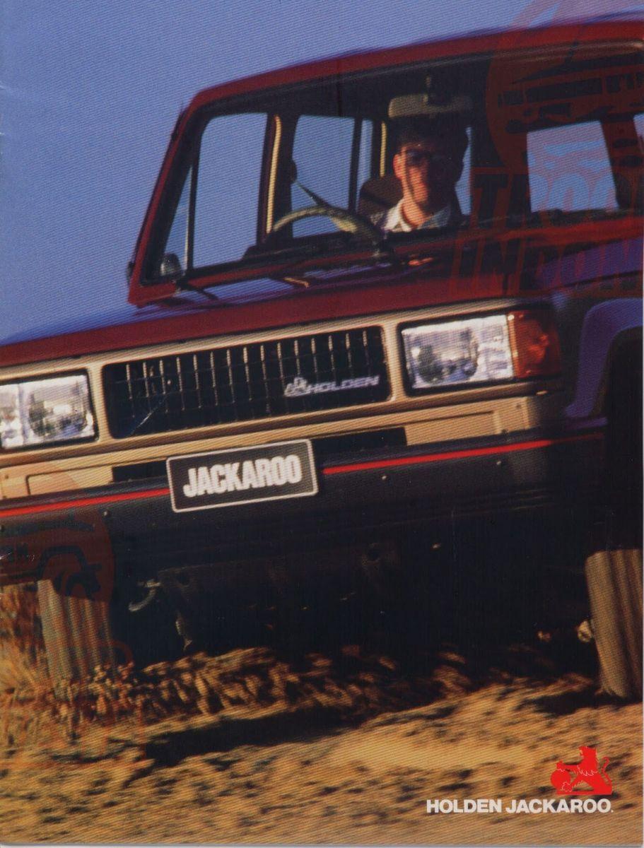 1988 Holden Jackaroo