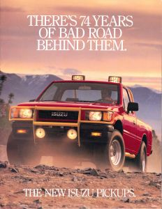 1988 Isuzu Pickups